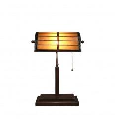 Stolní lampa Tiffany ve stylu 1930