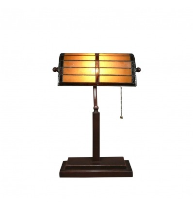 Tiffany bureaulamp - retro tafellamp tiffany