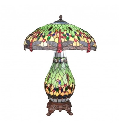 Lámpara libélula Tiffany