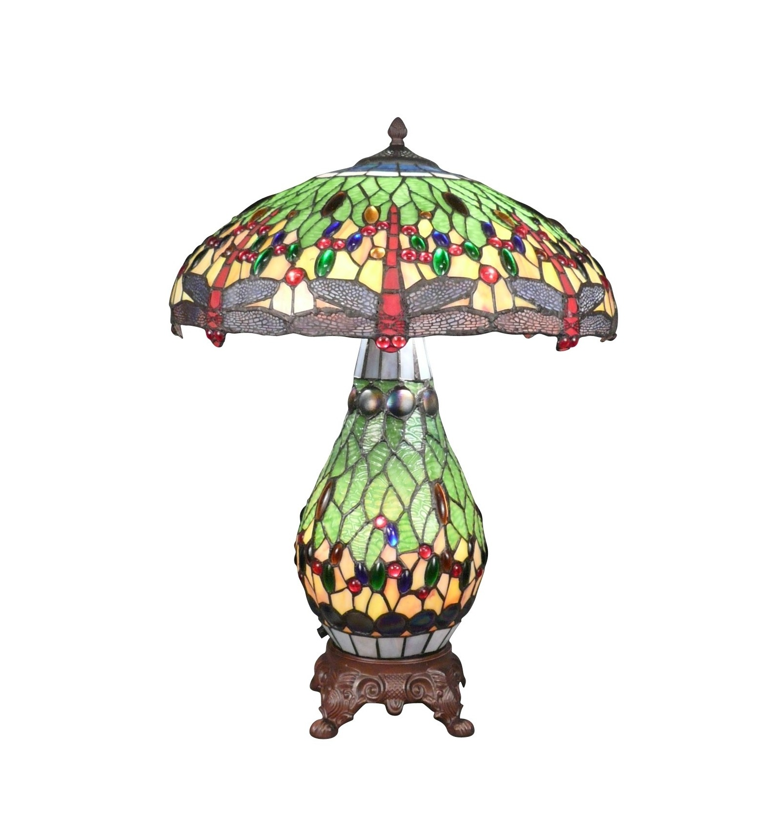 Dragonfly Tiffany lampy a4745448f3a