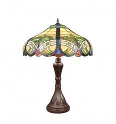 Lampada Tiffany barocca