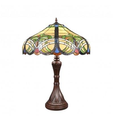Barokní tiffany lampa
