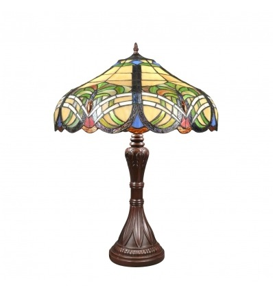 Lampade Tiffany barocca