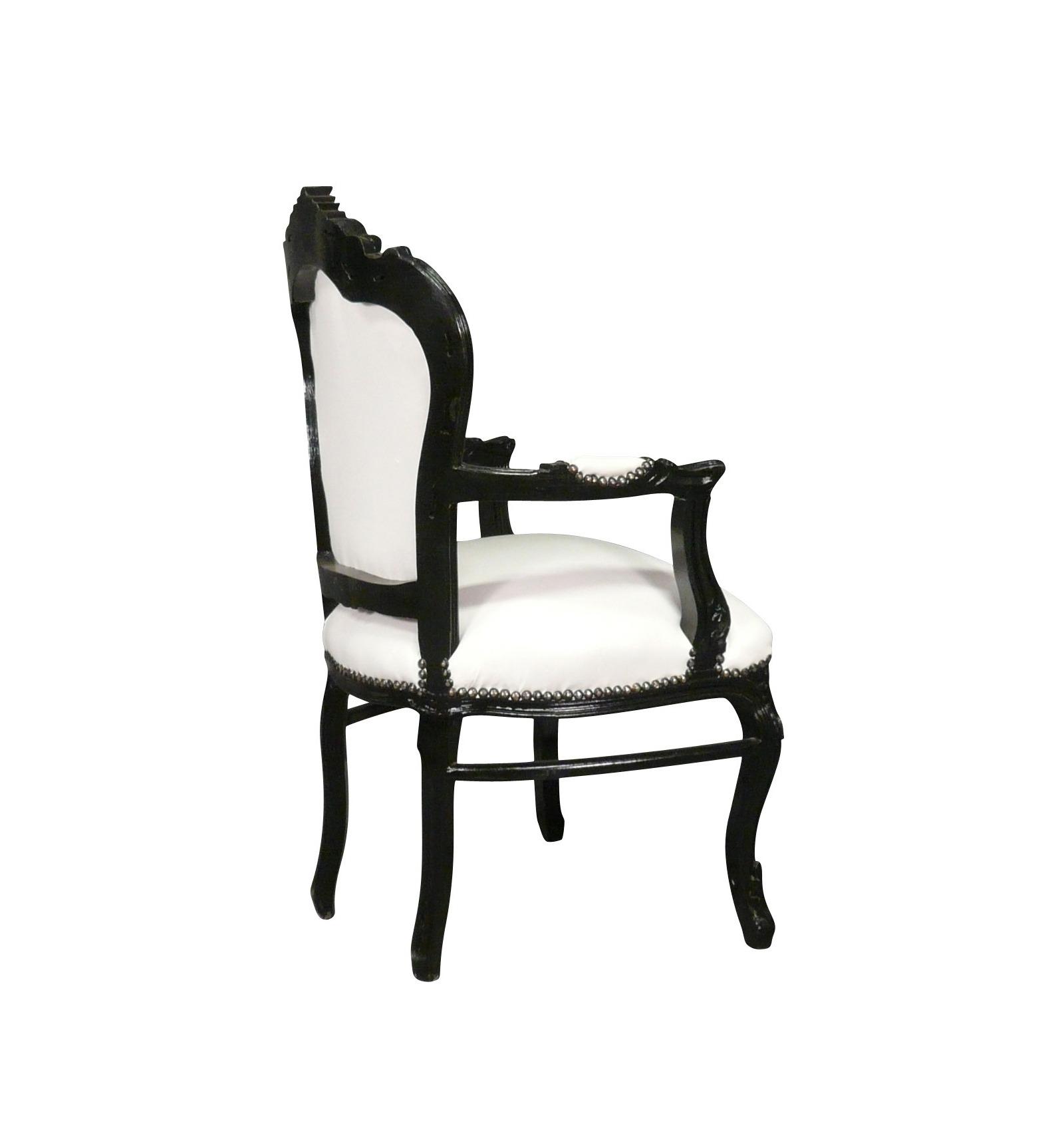 schwarz und wei barock sessel vesoul art deco m bel. Black Bedroom Furniture Sets. Home Design Ideas
