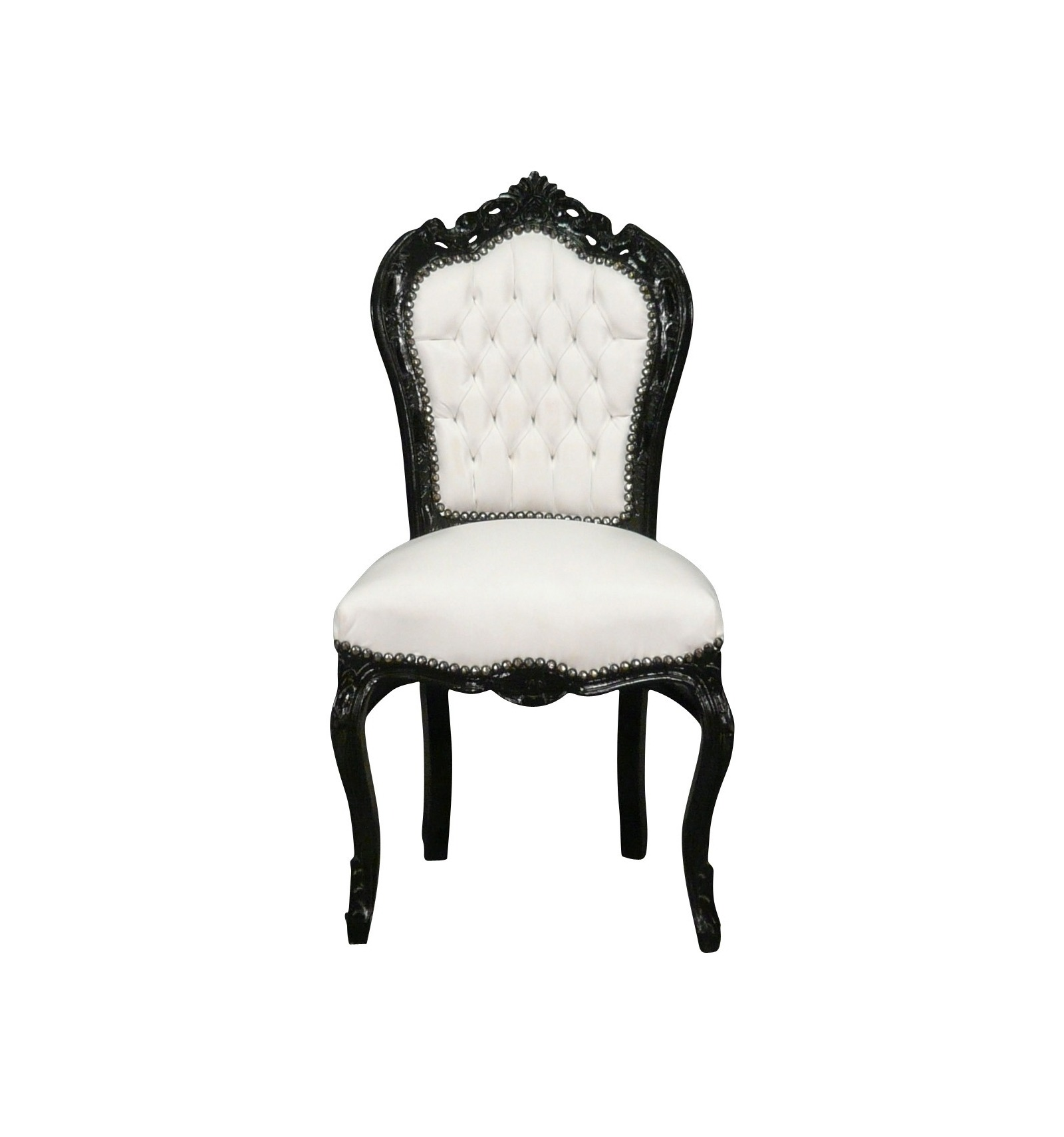 Baroque Chair Black-and-white