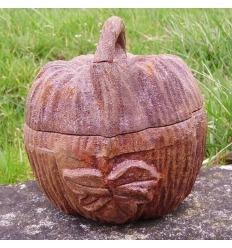 Pumpkin-cast iron