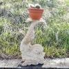 Poisson pour support de pots de fleurs