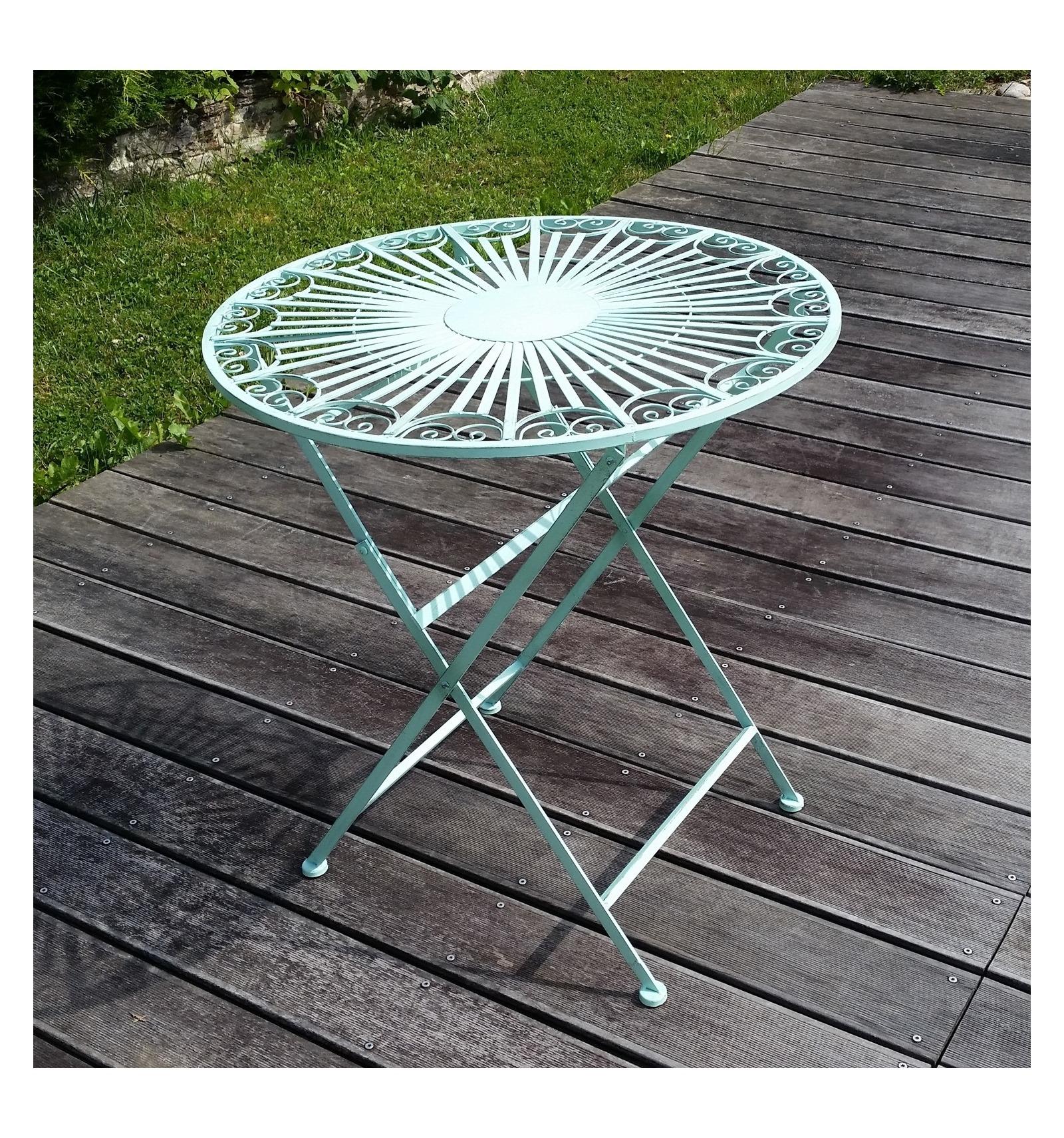 Giardino ferro battuto sedie e tavoli - Mobili da giardino in ferro ...