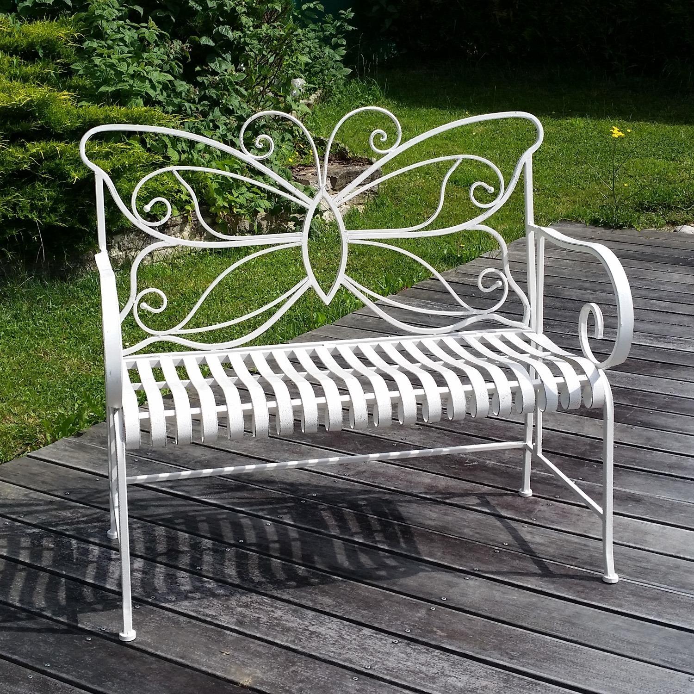 banc de jardin en fer forg ebay. Black Bedroom Furniture Sets. Home Design Ideas