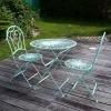 Tuinmeubelen in smeedijzer - 2 stoelen