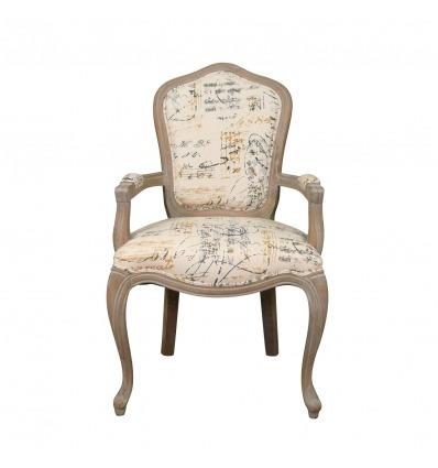 Armchair Louis XV Amadeus - Convertible armchair -
