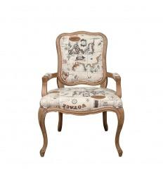 Louis XV židle z dubu