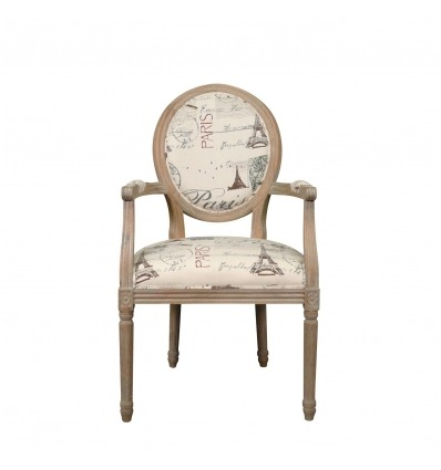 Louis XVI Sessel Paris Eiche -
