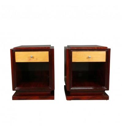 Art Deco Nachttisch - Das Paar - Art Deco Möbel