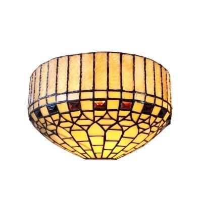 Tiffany aplikacja London Series-lampy ścienne Tiffany -