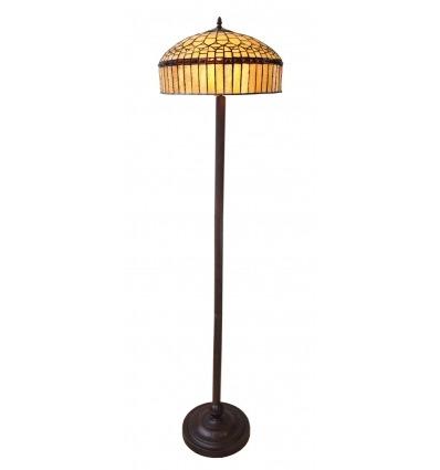 Lámpara de pie Tiffany serie Londres