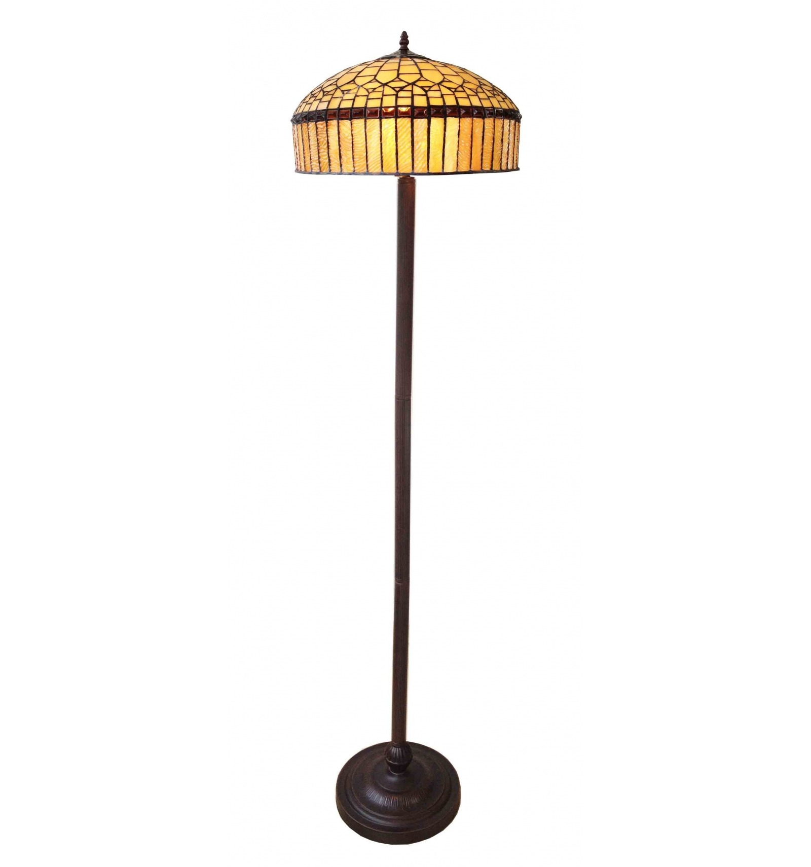 Lampada da terra tiffany serie londra for Tiffany londra indirizzo