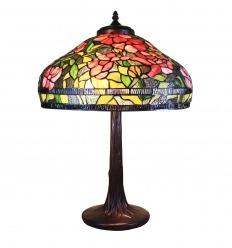 Lampada Tiffany serie di Bruxelles - H: 61 cm