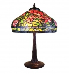 Tiffany lamp series Brussels - H: 61 cm