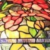 Lampadario Tiffany della serie Bruxelles - Apparecchi di illuminazione Tiffany -