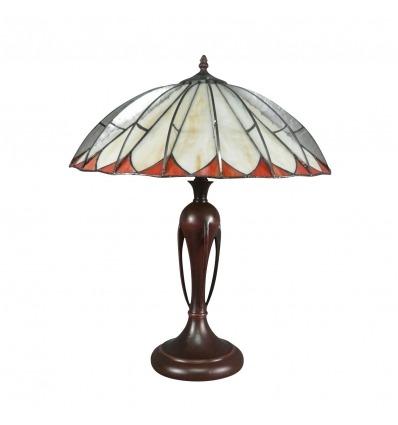 Tiffany Schwalbenlampe - Art Deco Tischlampe