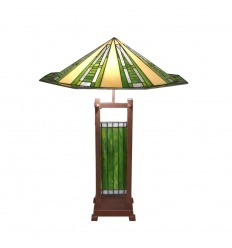 Tiffany-Lampe im Art-Deco-Stil