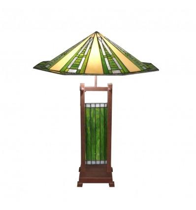 Lampada Tiffany in stile art deco