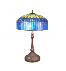 Tiffany lámpa - H: 62 cm