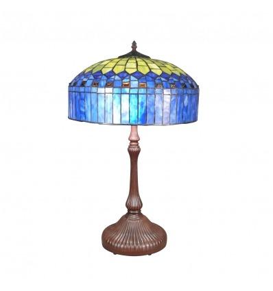 Tiffany Lampe - H: 62 cm