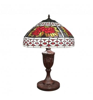 Tiffany Lampe - H: 59 cm - Tischlampe