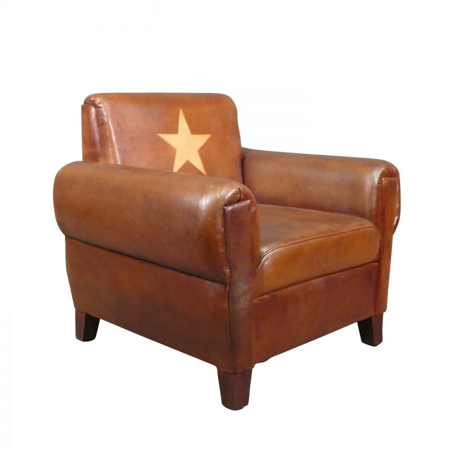 fauteuil club cuir v ritable soviet fauteuil art d co. Black Bedroom Furniture Sets. Home Design Ideas
