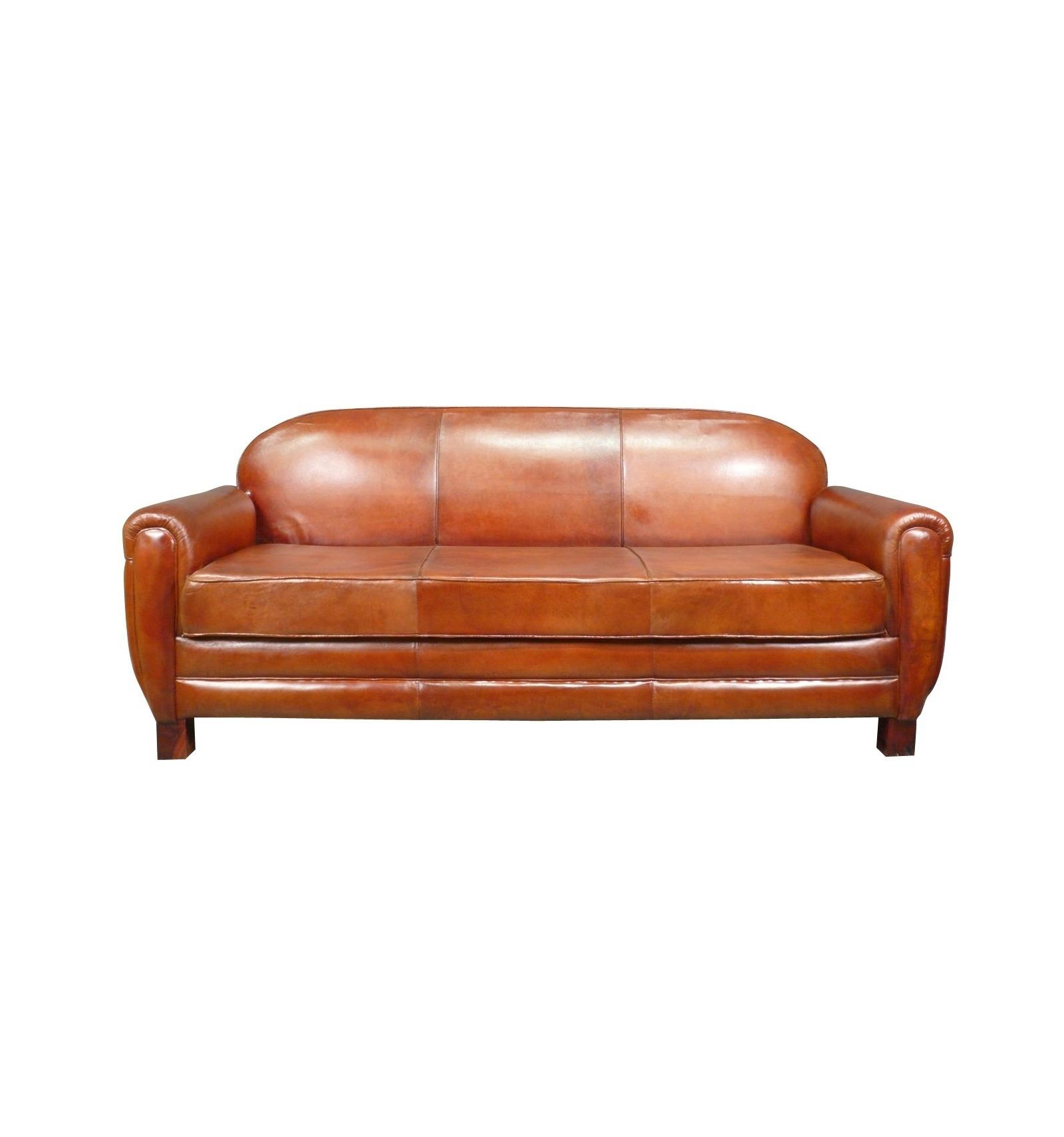 canap club cuir v ritable original. Black Bedroom Furniture Sets. Home Design Ideas