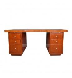 Art Deco desk in rosewood
