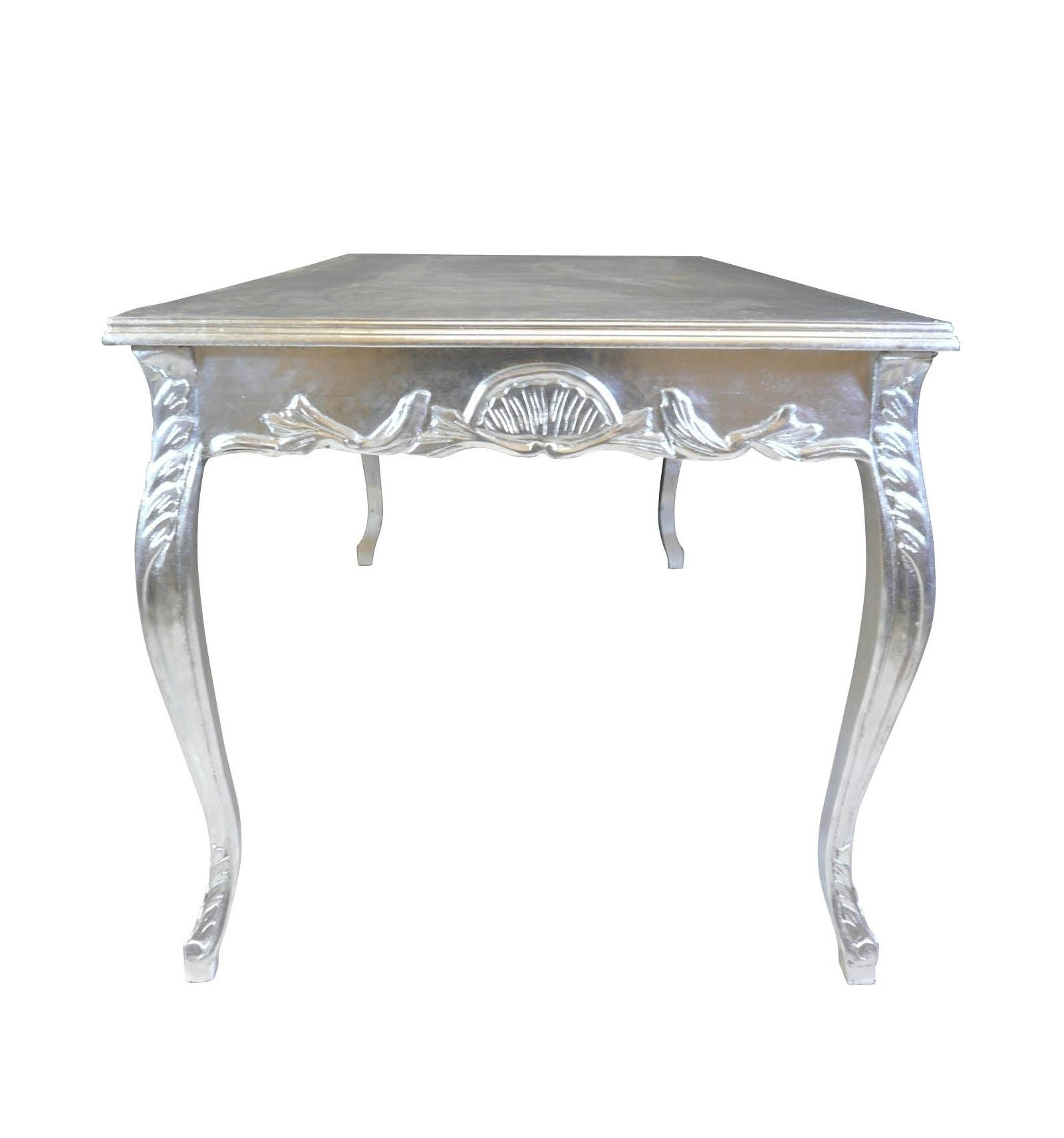 Tavolo da pranzo barocco d 39 argento mobili in stile - Mobili in stile barocco ...