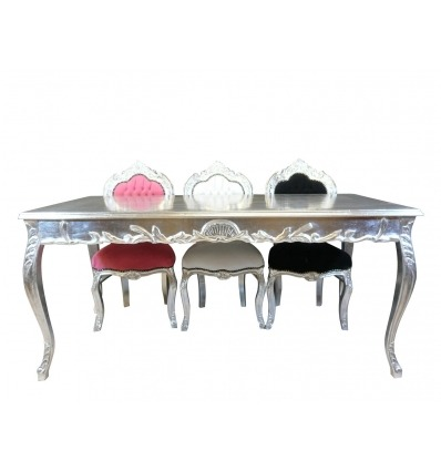 Silver baroque table