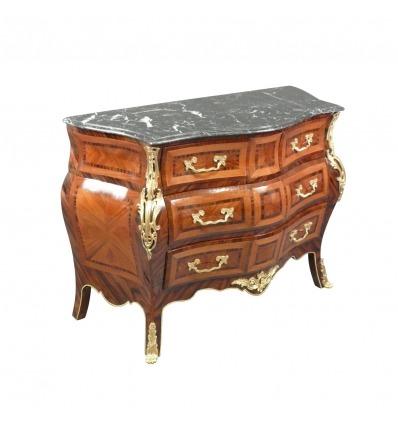 Louis XV komód - bútor art deco és barokk szék