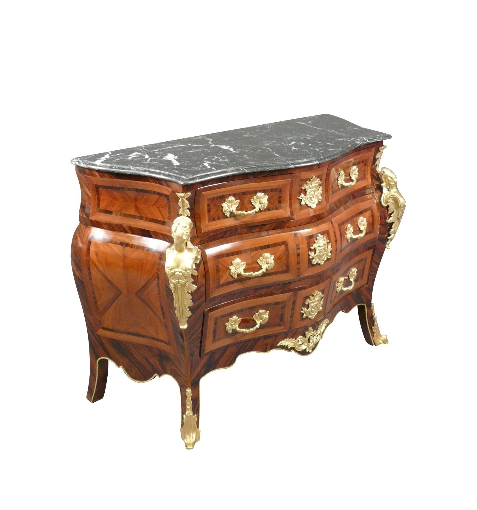 commode louis xv mobilier art d co et de style louis xv. Black Bedroom Furniture Sets. Home Design Ideas