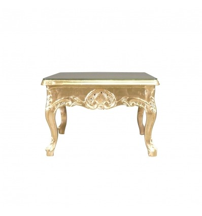 Baroque gold coffee table