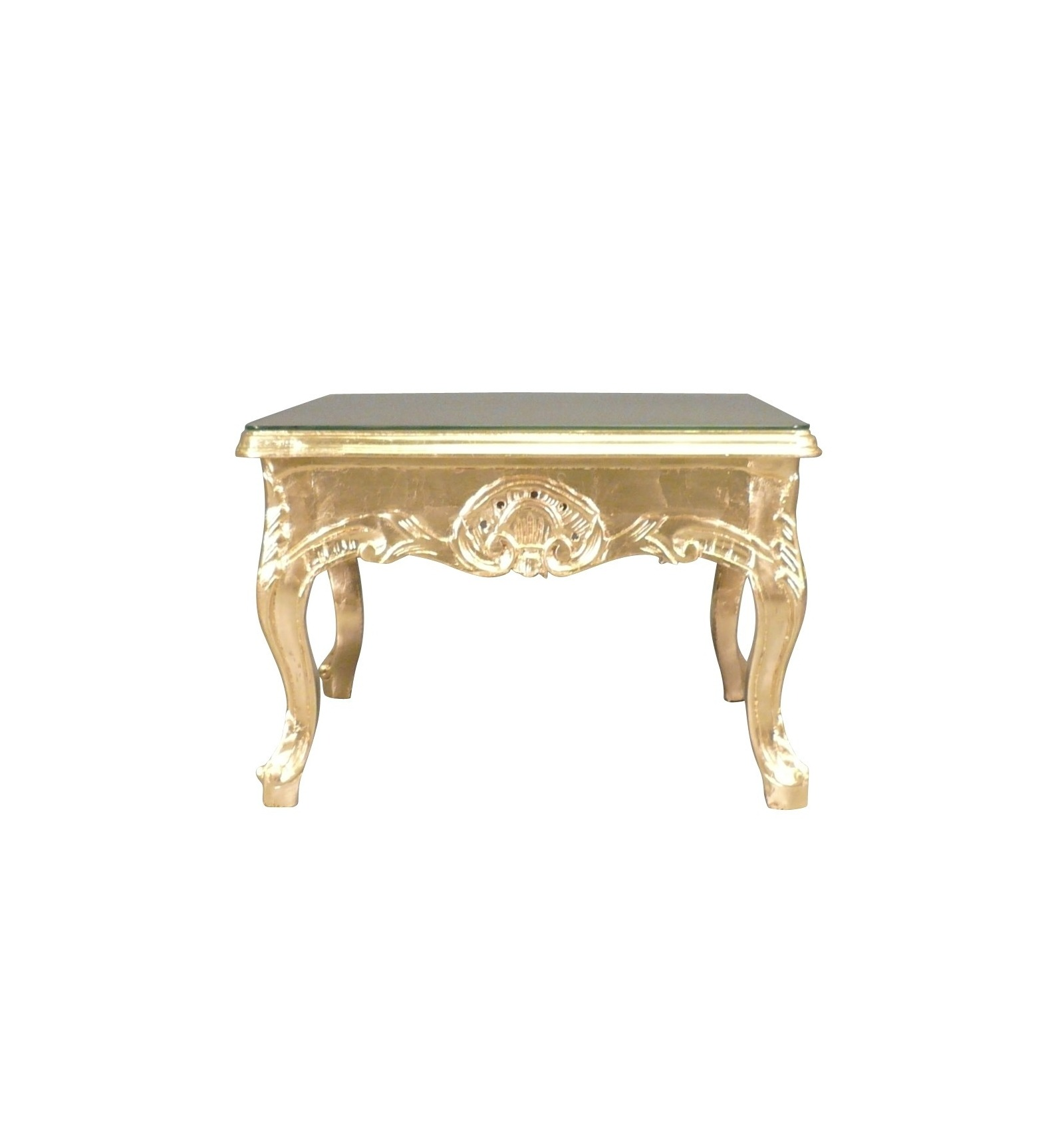 Table basse baroque or for Dimensions table basse