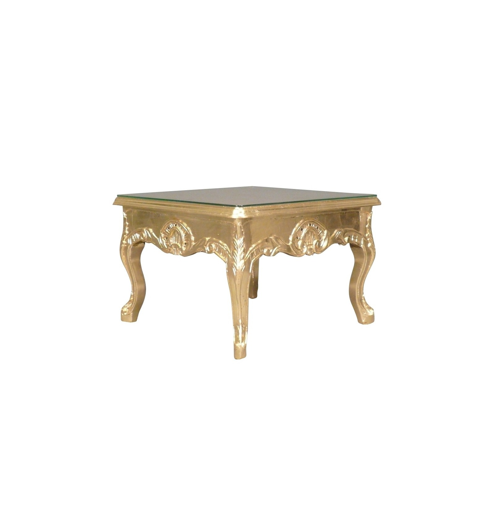 HTdeco -> Table Basse Transparente Courbee