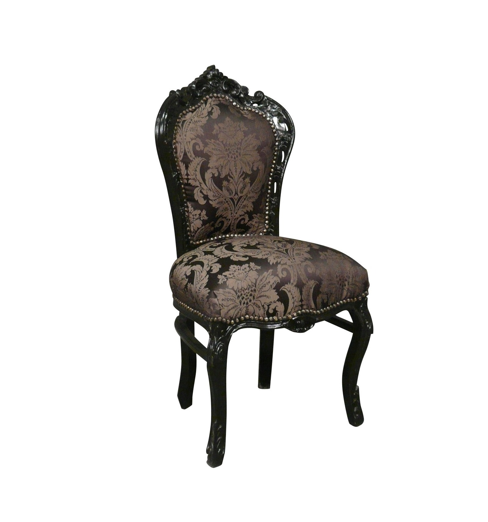 baroque chair black flowers baroque chairs cheap
