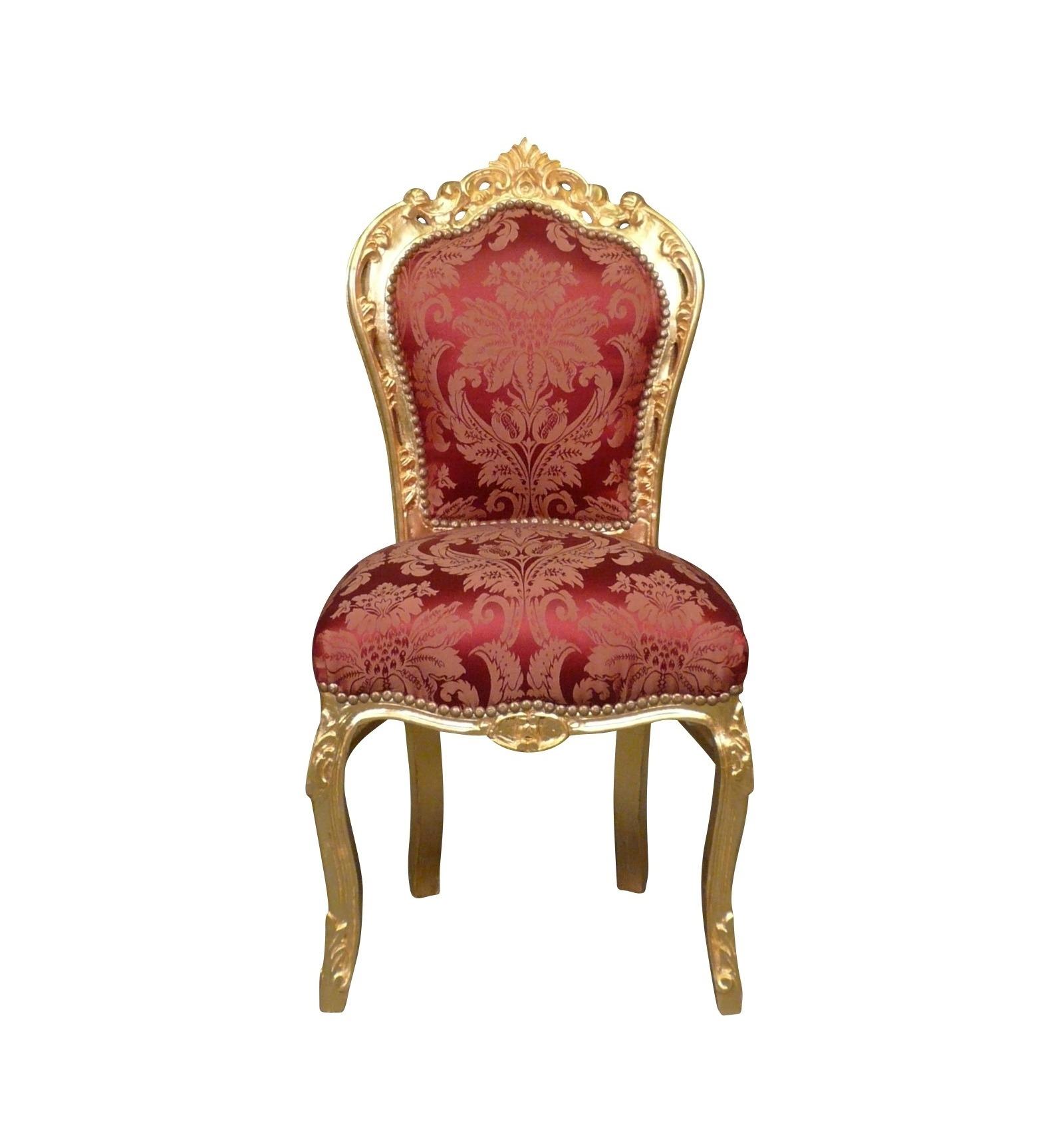 Faszinierend Stuhl Holz Galerie Von Barock In Schwarzem Samt Und Silber-holz