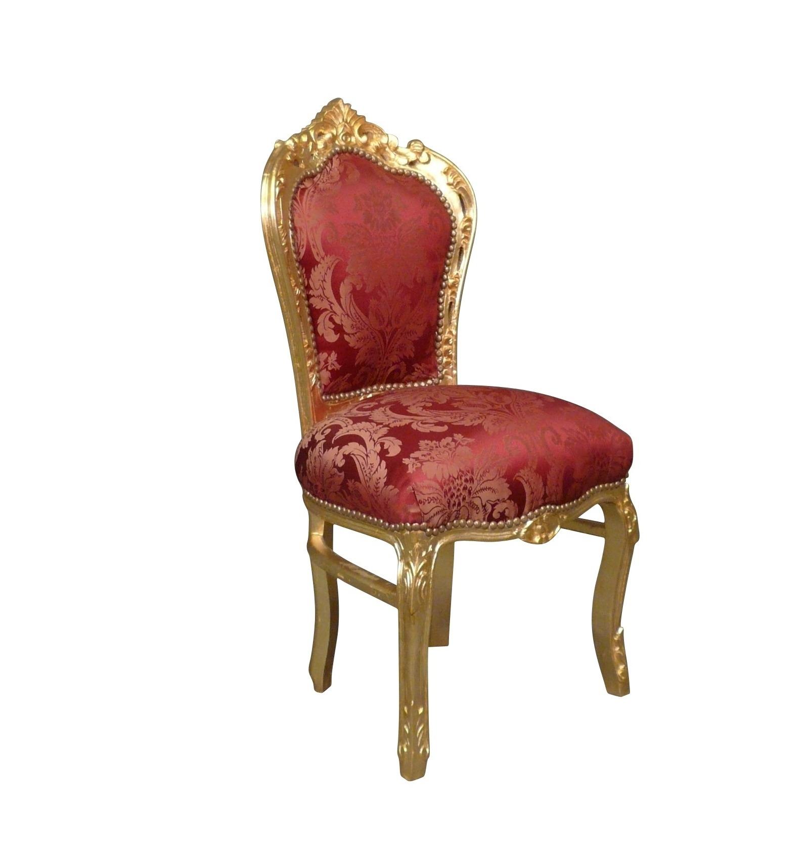 barock stuhl in schwarzem samt und silber holz barocke. Black Bedroom Furniture Sets. Home Design Ideas