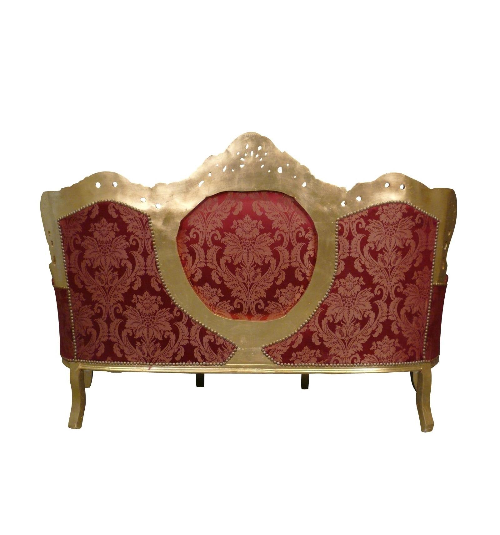 Baroque sofa black and silver baroque armchairs - Chambre baroque rose et noir ...