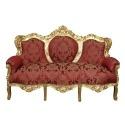 Sofa w stylu barokowym -