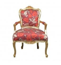 Кресло Людовика XV оригинальной формы