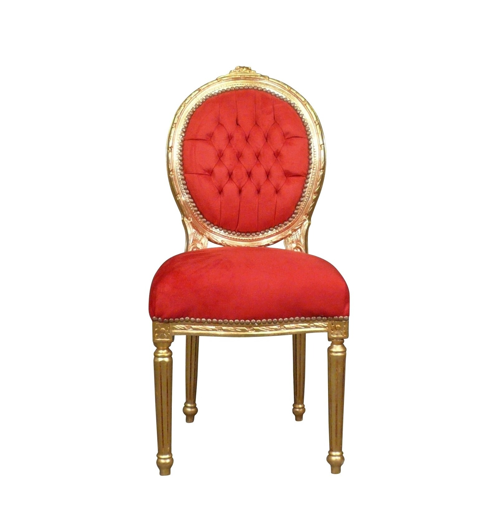 Chaise de luxe design luxury white chairs and wooden for Chaise louis xvi