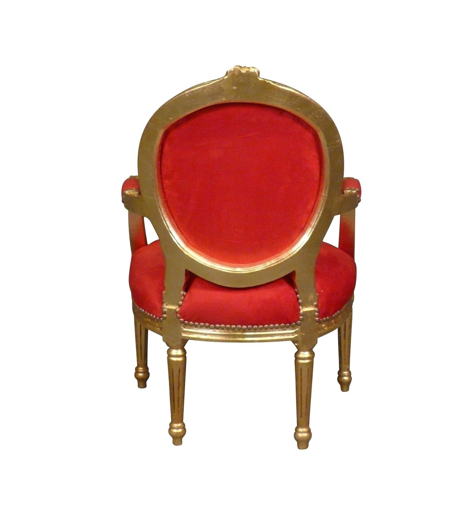 fauteuil louis xvi m daillon chaise baroque. Black Bedroom Furniture Sets. Home Design Ideas