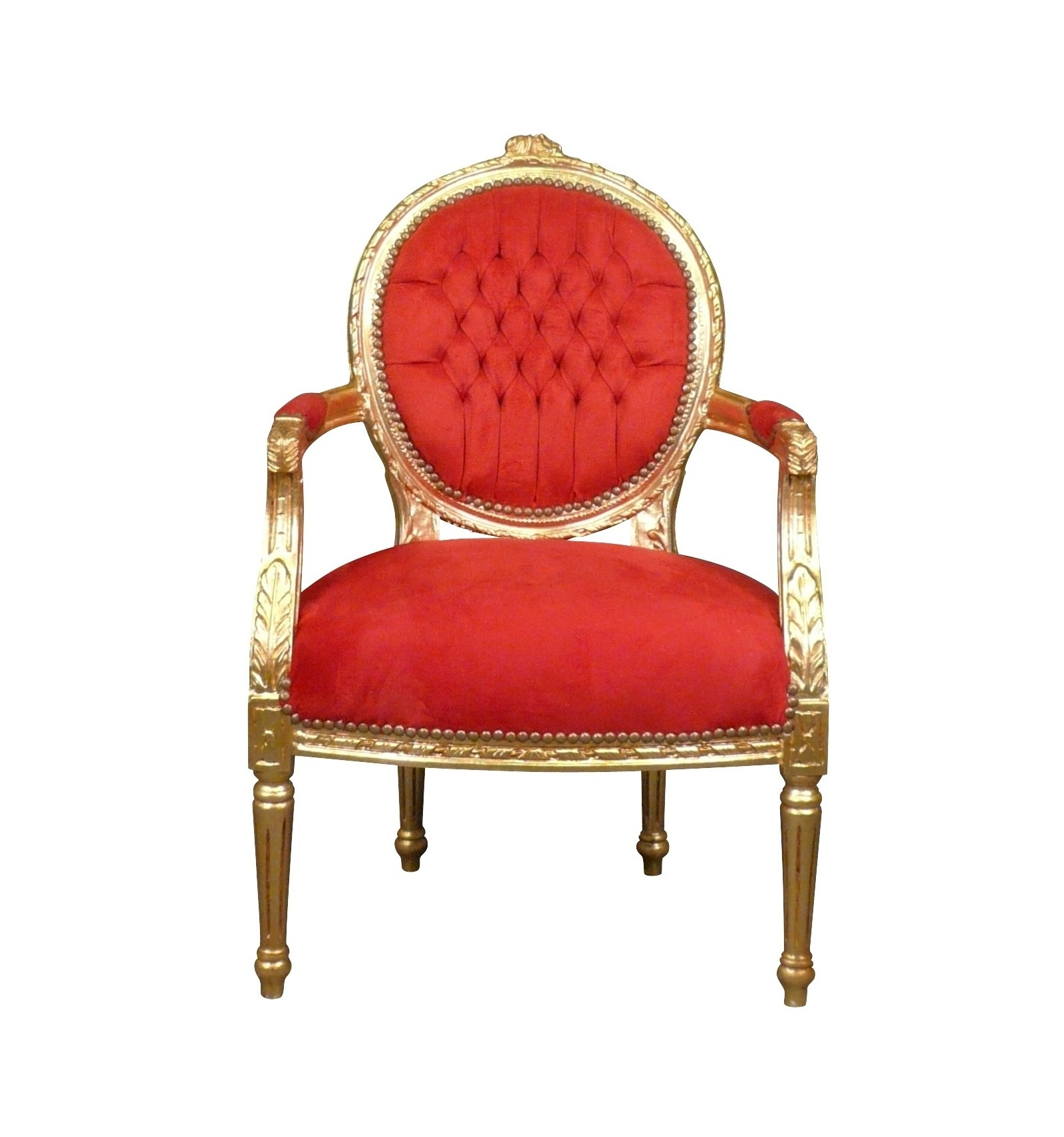 fauteuil louis xvi m daillon chaise baroque. Black Bedroom Furniture Sets. Home Design Ideas