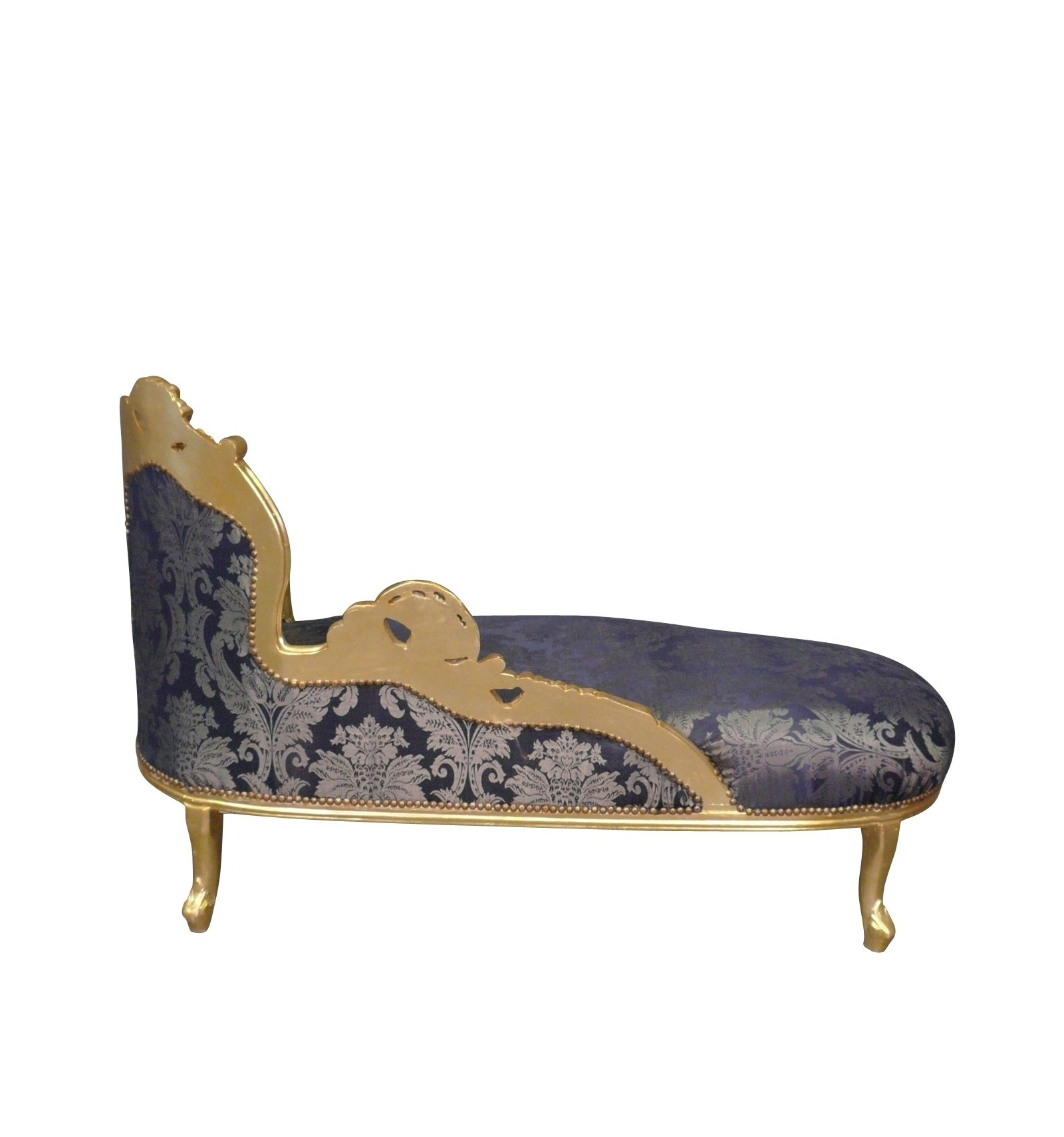 Baroque Chaise Longue Louis Xv Armchair